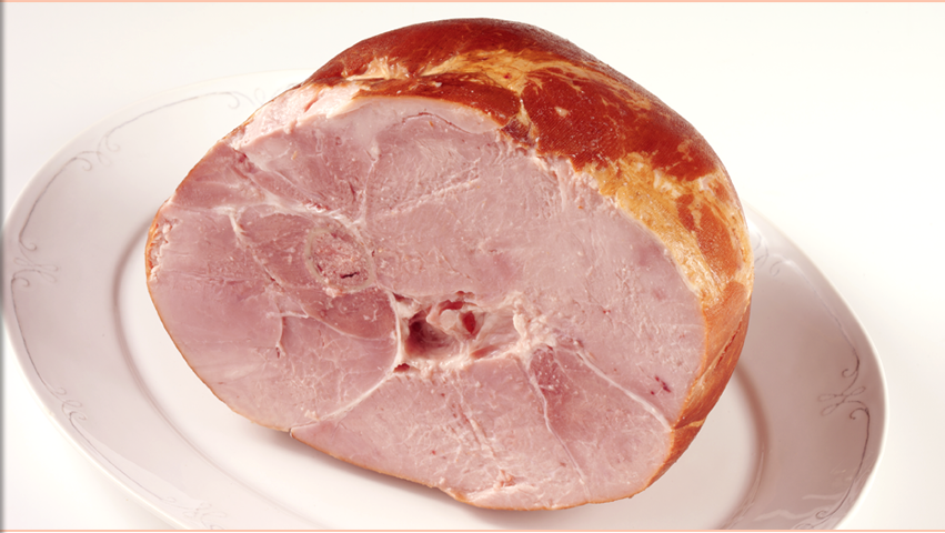 Hickory Smoked Semi Boneless Ham